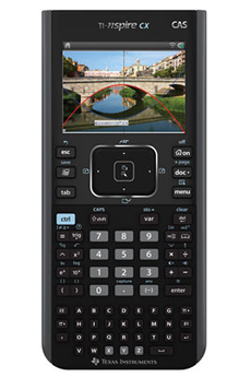 Calculatrice graphique TI NSPIRE CX CAS Texas Instruments