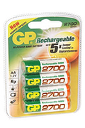 Pile rechargeable Gp NM2700 LR06 X4