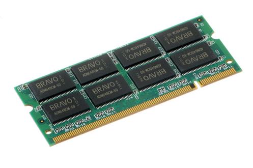 Barrette mémoire SODIMM 1 Go DDR PC-2700 CL2,5 Pny
