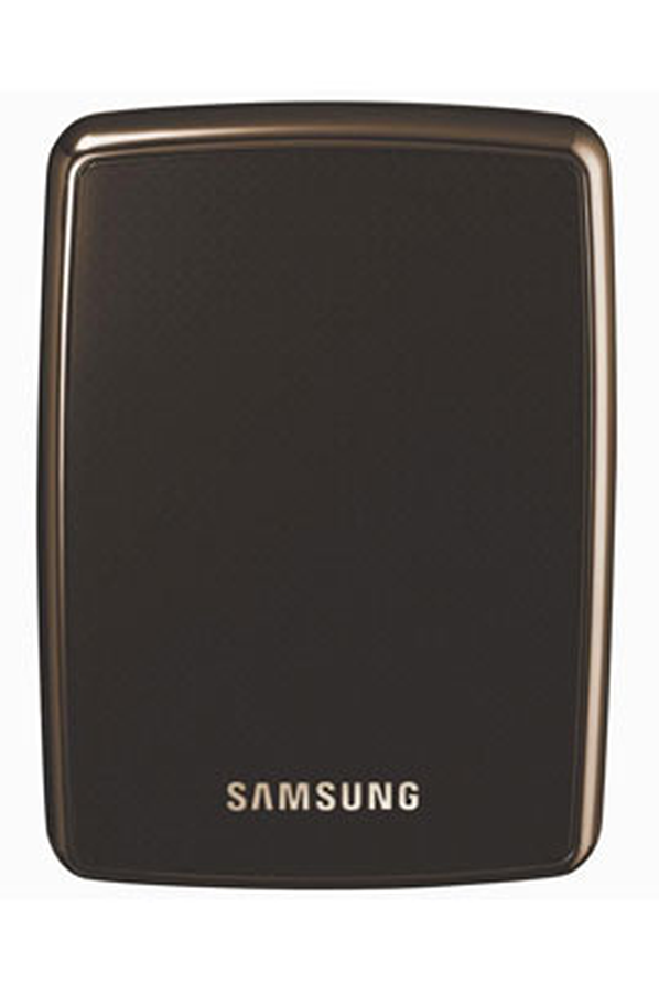 disque dur externe samsung s2 500 go usb 2 0 marron. Black Bedroom Furniture Sets. Home Design Ideas