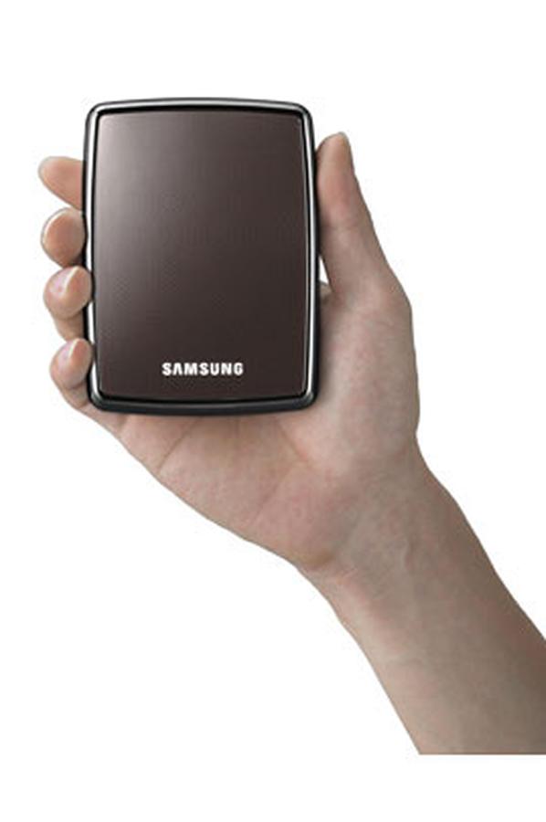 disque dur externe samsung s2 500 go usb 2 0 marron 1216856 darty. Black Bedroom Furniture Sets. Home Design Ideas