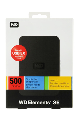 Western Digital ELEMENTS SE 500 Go USB 2.0 / USB 3.0