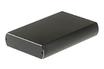 Boîtier disque dur 3,5'' USB 2.0 / USB 3.0 ALU BLACK It Works