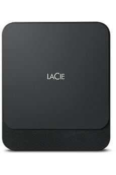 Disque dur SSD 1 To Connectivité USB-C (USB 3.1) Vitesse de de lecture et écriture : 540 Mo/s Design fin et élégant