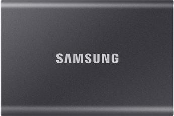 SSD externe Samsung SSD Externe T7 500Go gris titane