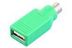 Connectique informatique ADAPTATEUR USB Femelle/ PS2 Mâle Lineaire