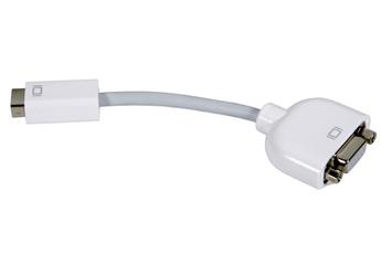 Connectique pour Mac ADAPTATEUR MINI DVI / VGA Apple