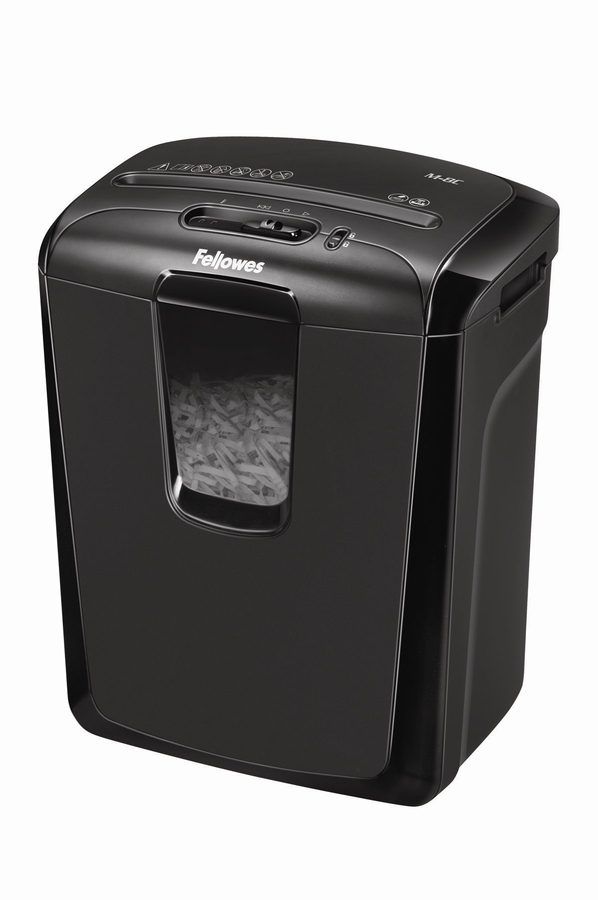 destructeur de document fellowes powershred m 8c 8. Black Bedroom Furniture Sets. Home Design Ideas