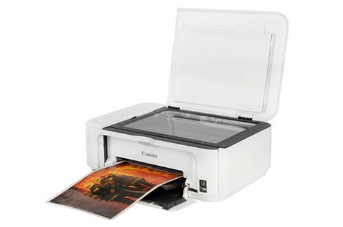 imprimante jet d 39 encre canon pixma mg3550 blanche mg3550. Black Bedroom Furniture Sets. Home Design Ideas