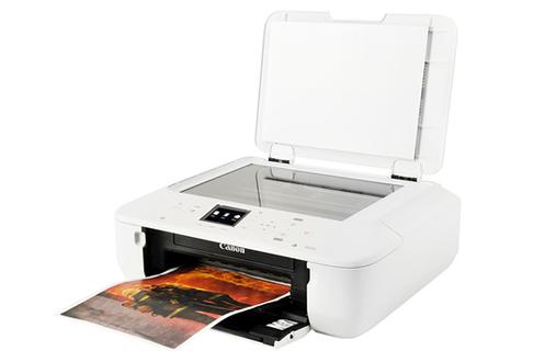 imprimante jet d 39 encre canon mg5550 blanche 3780988. Black Bedroom Furniture Sets. Home Design Ideas