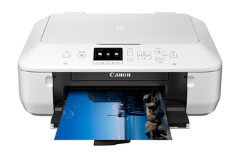 Imprimante jet d'encre MG5650 BLANCHE Canon