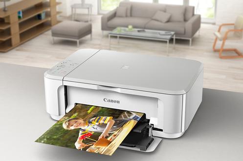 imprimante jet d 39 encre canon mg 3650 blanc 4158369 darty. Black Bedroom Furniture Sets. Home Design Ideas