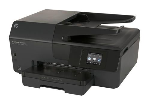 avis clients pour le produit imprimante jet d 39 encre hp officejet 6830. Black Bedroom Furniture Sets. Home Design Ideas