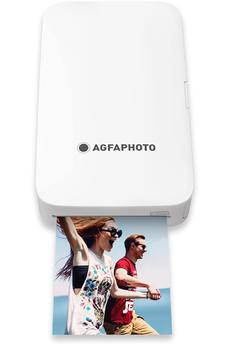 Imprimante monofonction Agfa Imprimante Photo Portable Realipix Mini P Blanc