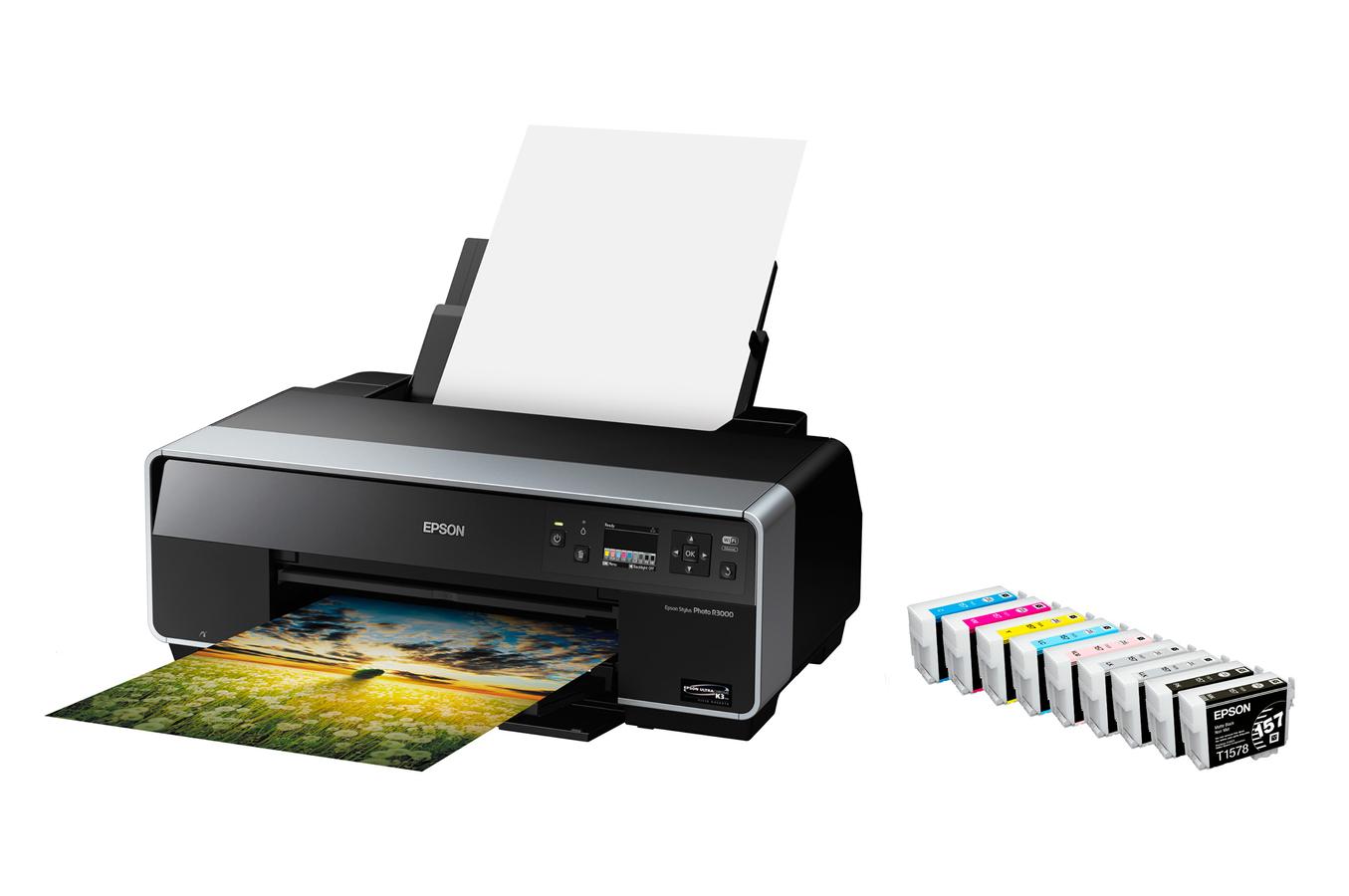 imprimante photo epson stylus photo r3000 r3000 8907765. Black Bedroom Furniture Sets. Home Design Ideas