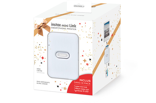 PACK 2020 INSTAX MNI LINK BLANC