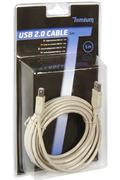 Temium USB Mâle/Mâle 5M