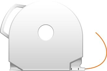 Consommable imprimante 3D CUBEPRO ORANGE ABS 3d System