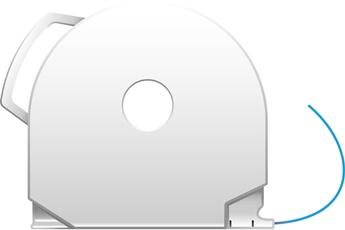Consommable imprimante 3D CUBEPRO BLUE ABS 3d System