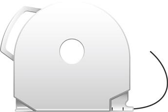 Consommable imprimante 3D CUBEPRO BLACK ABS 3d System
