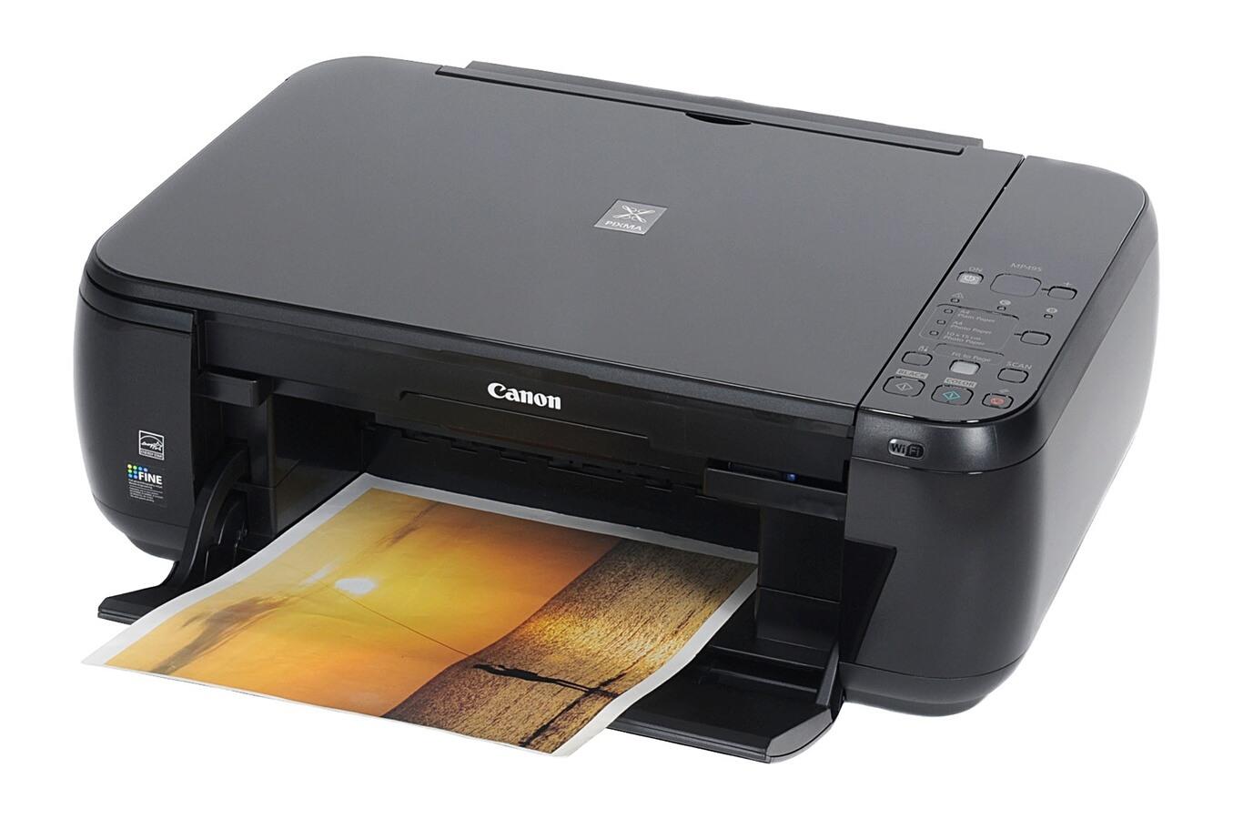 Canon pixma mp495 scanner