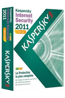 Logiciel INTERNET SECURITY 2011 1PC Kaspersky
