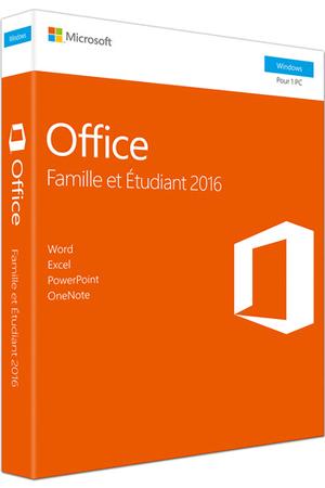 Logiciel microsoft office famille et tudiant 2016 1 pc - Office famille premium cle gratuit ...