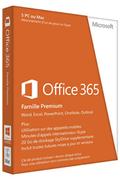 Microsoft Office 365 Famille - 5 PC ou Mac - Abonnement 1 an