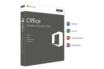 Logiciel Office Mac Home Student 2016 Microsoft