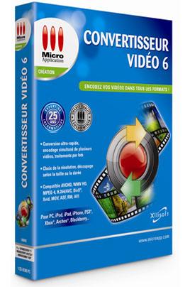 Micro Application CONVERTISSEUR VIDEO 6