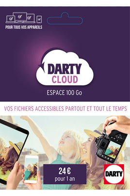 Darty Cloud Prépayé 100 Go