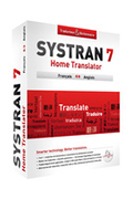 Mysoft SYSTRAN HOME 7 TRANSLATOR français / anglais
