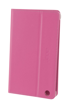 Housse et étui pour tablette Etui à rabat rose pour Acer Iconia B1-730 Acer