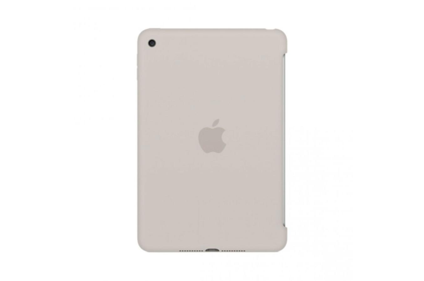 housse et tui pour tablette apple coque en silicone beige pour ipad mini 4 4167155 darty. Black Bedroom Furniture Sets. Home Design Ideas