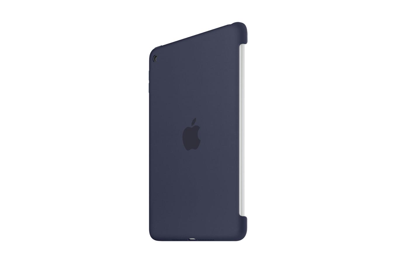 housse et tui pour tablette apple coque en silicone bleue fonc e pour ipad mini 4 4167147 darty. Black Bedroom Furniture Sets. Home Design Ideas