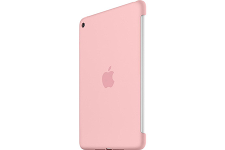 housse et tui pour tablette apple coque en silicone rose pour ipad mini 4 darty. Black Bedroom Furniture Sets. Home Design Ideas