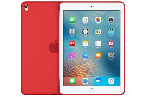 Coque en silicone rouge Pour iPad Pro 9.7' Légère et résistante