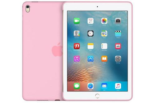 """Coque en silicone rose pâle Pour iPad Pro 9.7"""""""