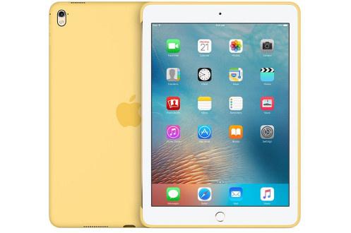 """Coque en silicone jaune Pour iPad Pro 9.7"""" Légère et résistante"""