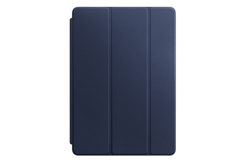 Housse et étui pour tablette Apple Smart Cover en cuir bleu nuit pour iPad Pro 10,5