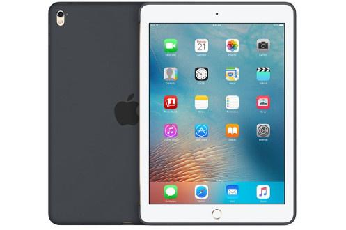 Coque en silicone gris anthracite Pour iPad Pro 9.7' Légère et résistante