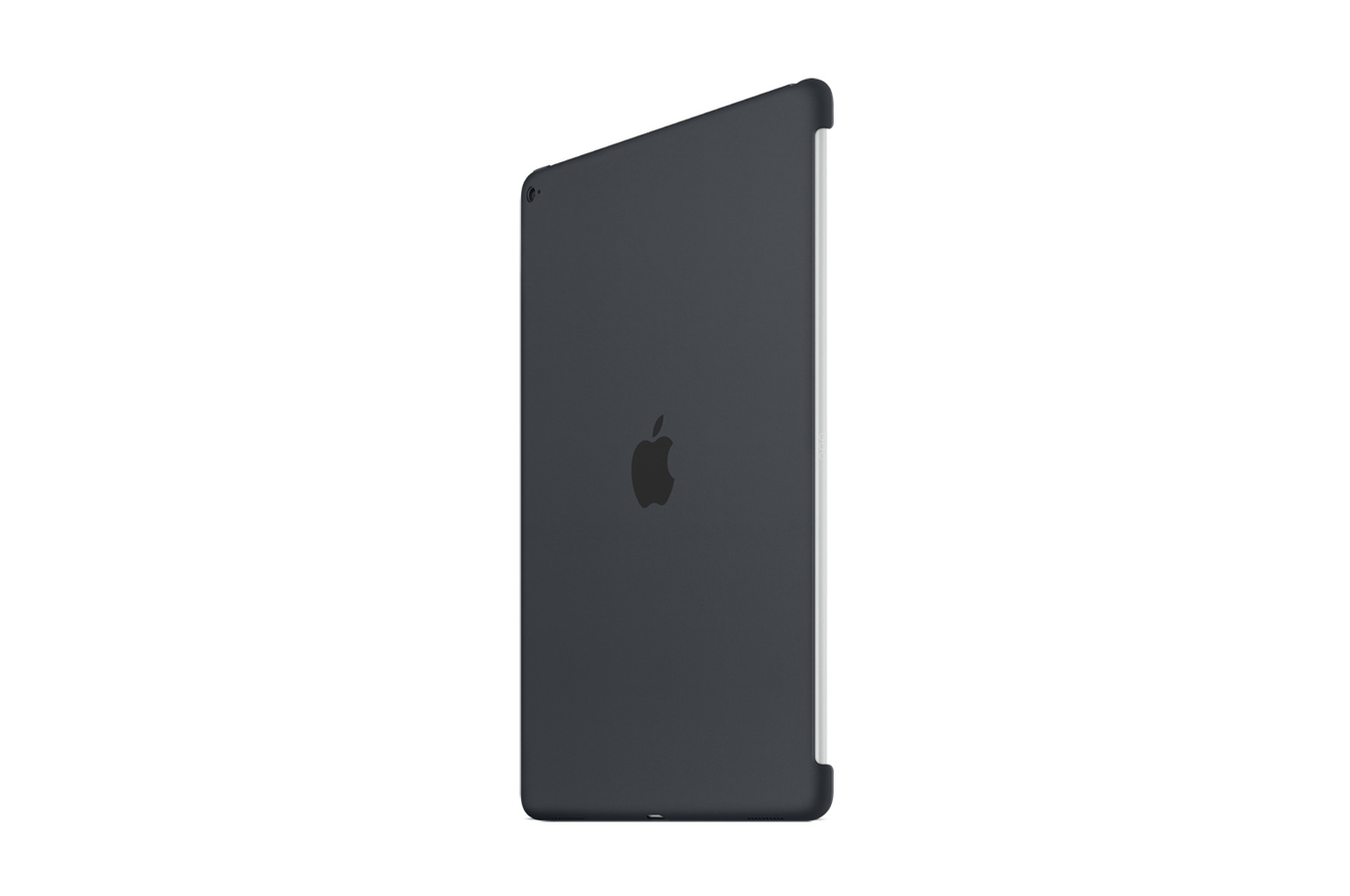 housse et tui pour tablette apple coque en silicone gris anthracite pour ipad pro 12 39 39 4175417. Black Bedroom Furniture Sets. Home Design Ideas