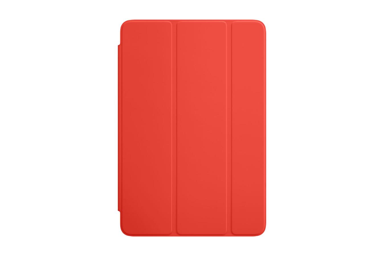housse et tui pour tablette apple smart cover orange pour ipad mini 4 4167066 darty. Black Bedroom Furniture Sets. Home Design Ideas