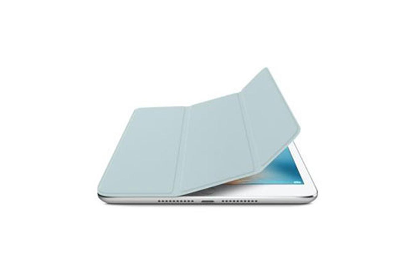 housse et tui pour tablette apple smart cover turquoise pour ipad mini 4 4167104 darty. Black Bedroom Furniture Sets. Home Design Ideas