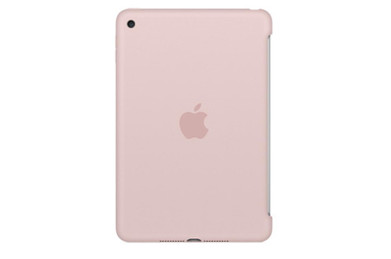 housse et tui pour tablette apple coque en silicone rose des sables pour ipad mini 4 4261402. Black Bedroom Furniture Sets. Home Design Ideas