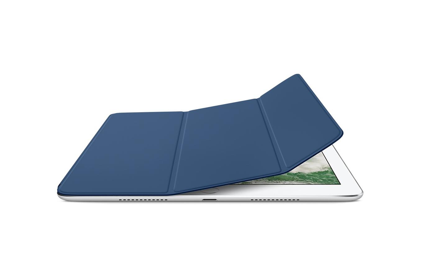housse et tui pour tablette apple smart cover bleu. Black Bedroom Furniture Sets. Home Design Ideas