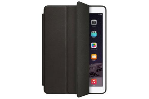 Smart Case Noir Pour iPad Air 2 Finition cuir Support clavier