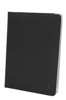 Housse et étui pour tablette Folio basique nylon noir pour iPad Air Belkin