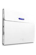 "Case Logic Etui à rabat rotatif en polycarbonate blanc pour Samsung Galaxy Tab 4 10.1"""
