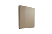 Case Logic Etui à rabat rotatif en polycarbonate taupe pour iPad Air